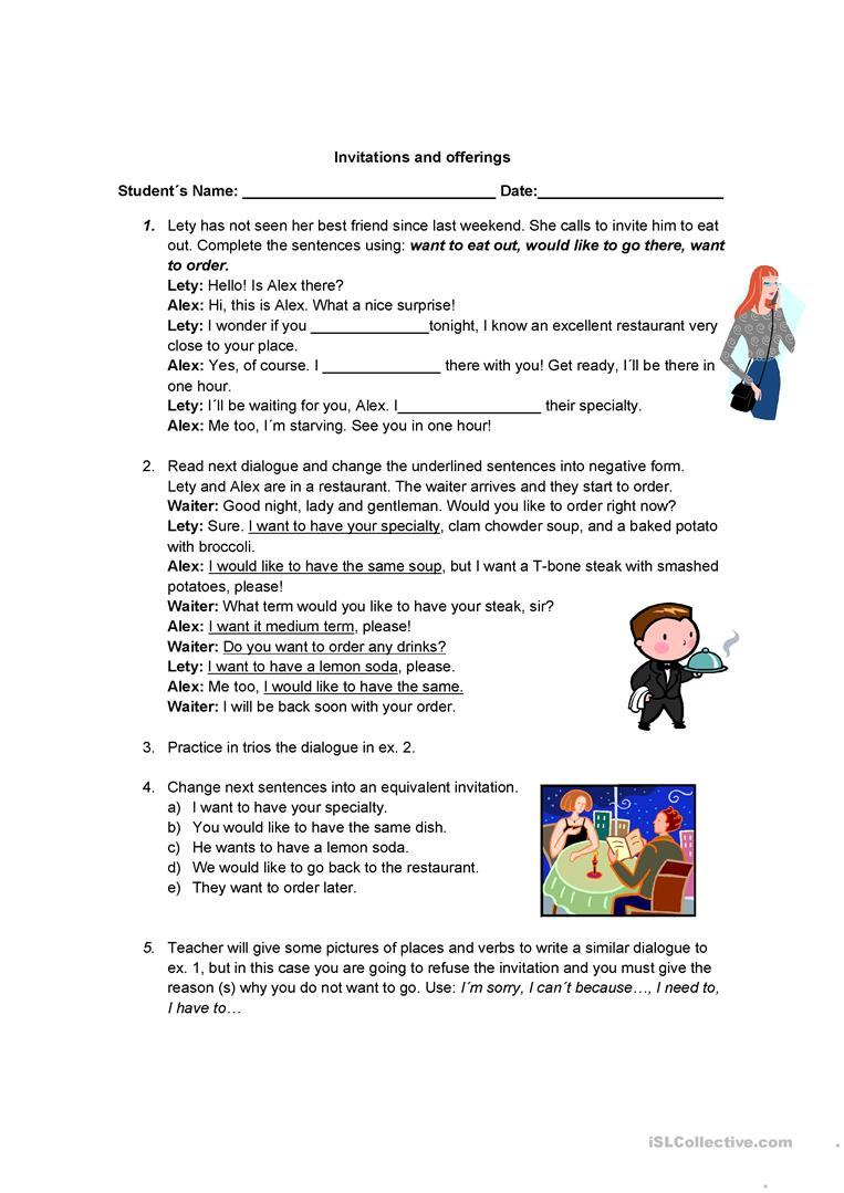 Writing an invitation worksheet free printable greetings 33 free esl invitation worksheets invitations and offerings activities promoting classroom dynamics group form 55092 1 stopboris Choice Image
