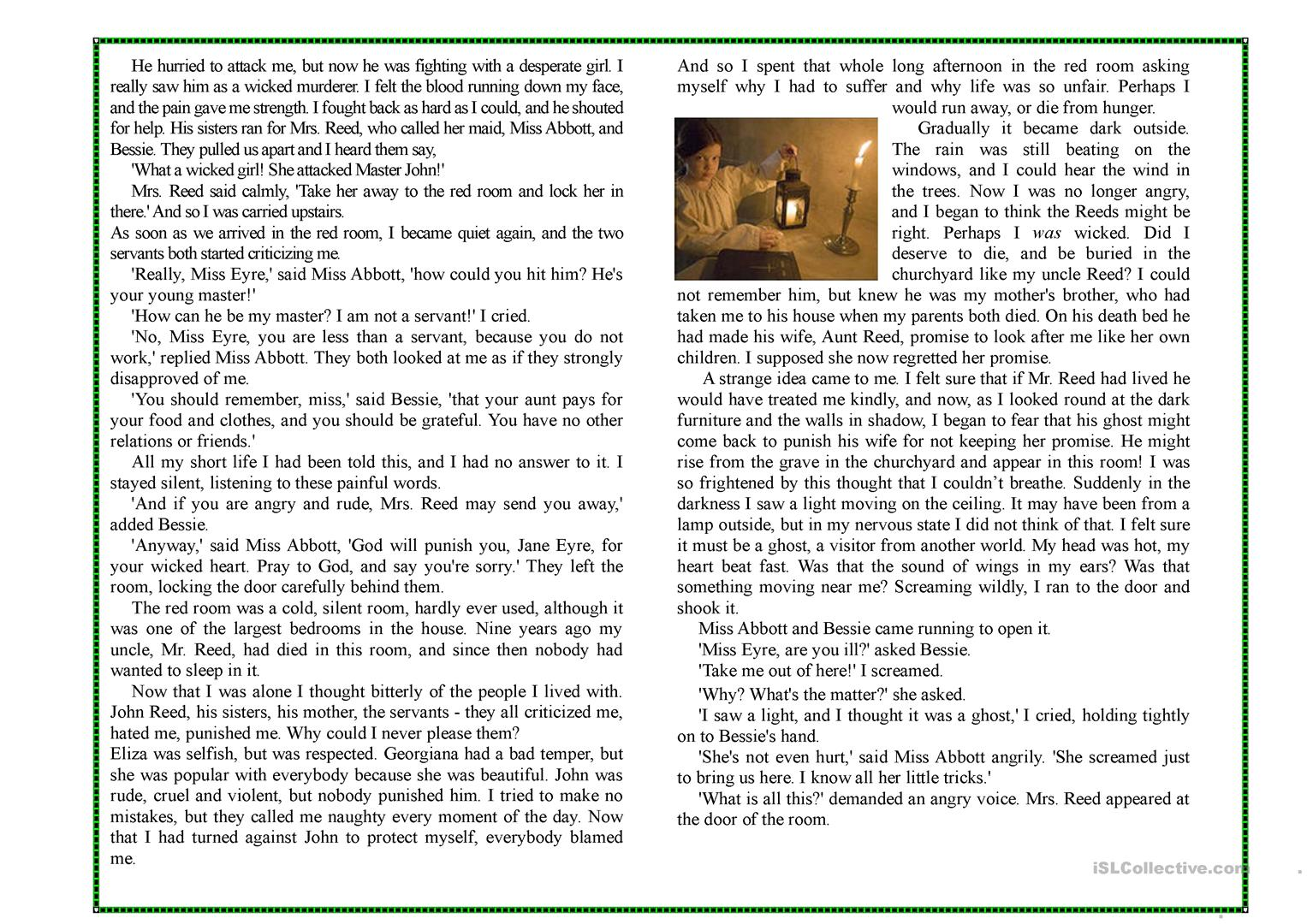 chapter 1 rogue jane and i essay Jane eyre character developments and attitudes english literature essay jane eyre character developments and attitudes next in the chapter, jane meets mr.