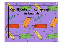 17 free esl certificates powerpoint presentations exercises certificate of achievement 12 yelopaper Choice Image