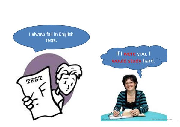 A ppt to illustrate conditional sentences type 2