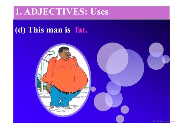 adjectives and adverbs