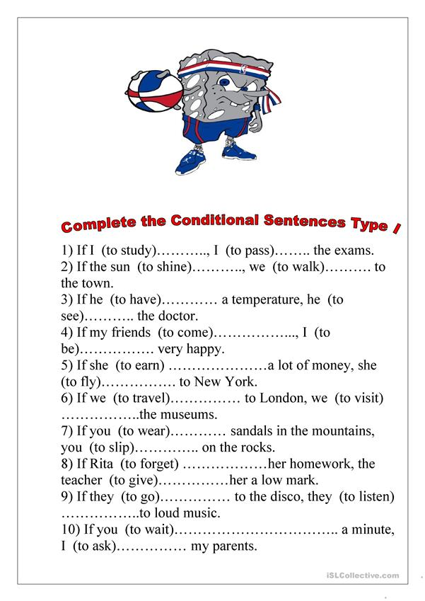 Conditional Sentences Type I