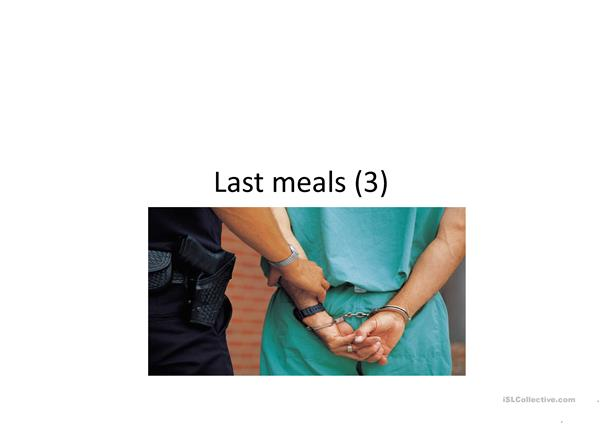 meals, persons , crime