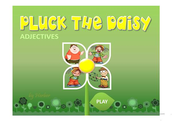 PLUCK THE DAISY PPT
