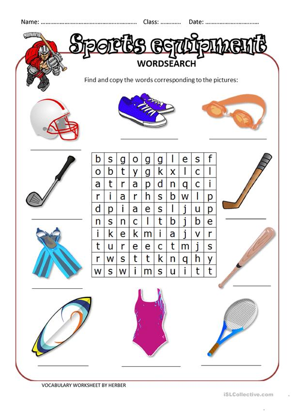 SPORTS EQUIPMENT WS