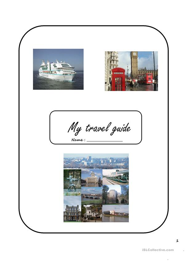 travel guide book