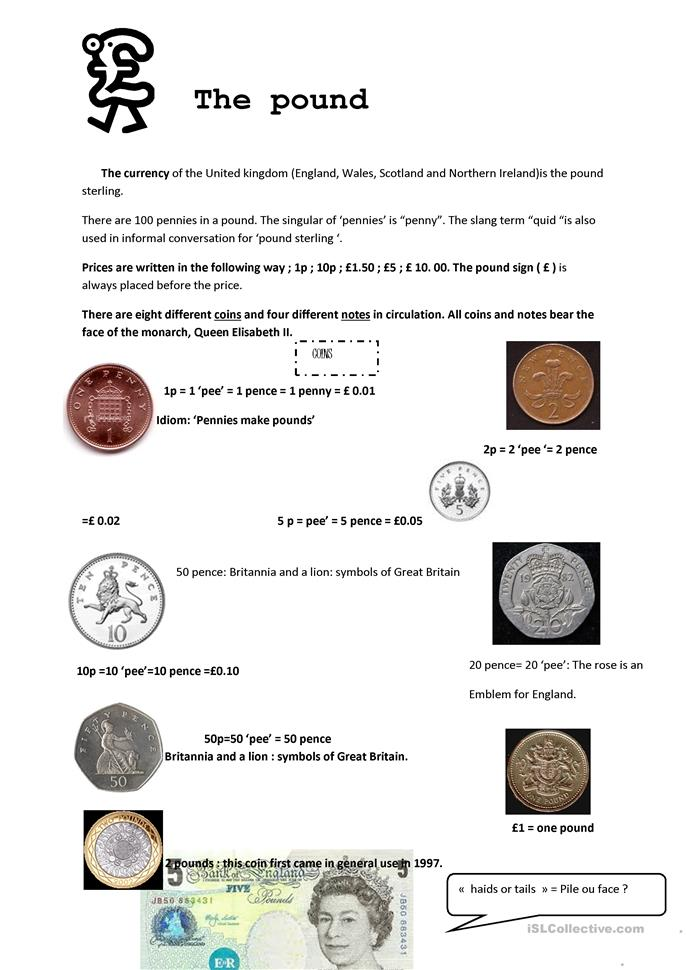 an introduction to english money worksheet free esl printable worksheets made by teachers. Black Bedroom Furniture Sets. Home Design Ideas