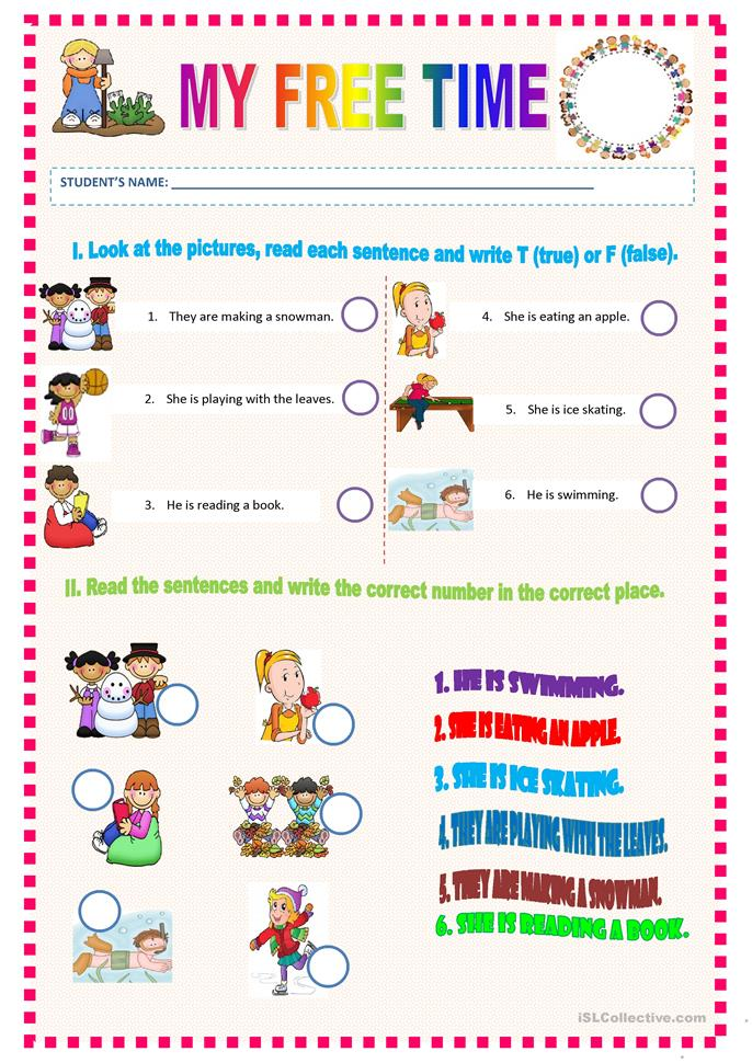 Worksheets Free Time Worksheets 9 free esl my time worksheets time