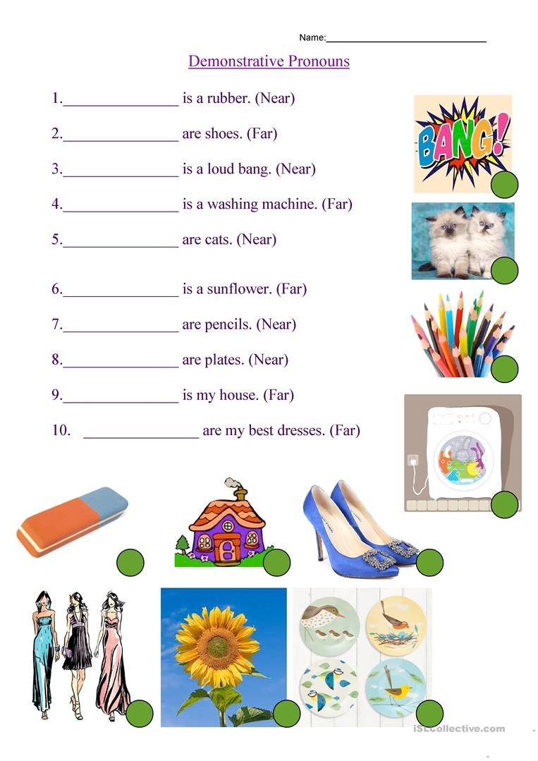 communicative lesson plan demonstrative pronouns English teachers we offer printable aim: teach singular and plurals of nouns and demonstrative pronouns unit 7 esl lesson plans communicative board games.