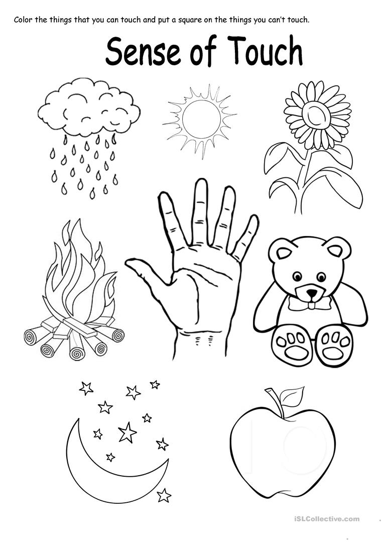 sensory coloring pages - photo#37
