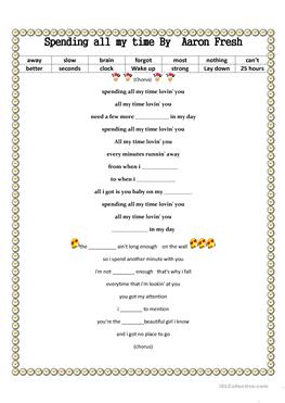 English ESL spend worksheets - Most downloaded (14 Results) | Page 2