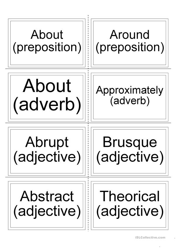 Flashcards - Synonyms 2