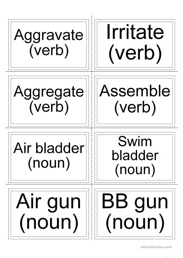 Flashcards - Synonyms 5