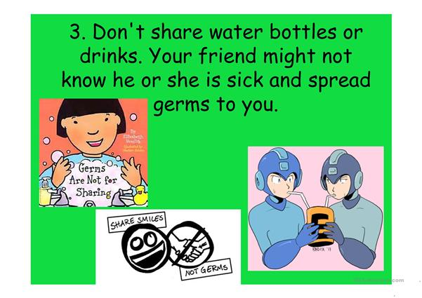 Prevent germs