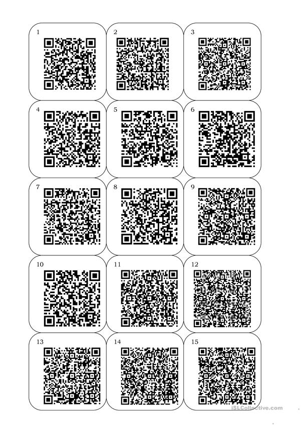 QR Codes and Animal Quiz
