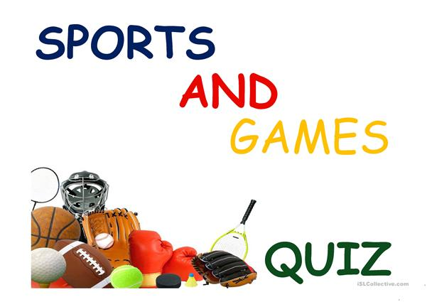 Sport and games quiz
