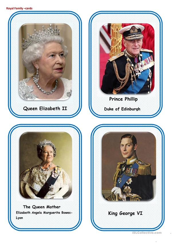 The Royal family-cards 1 (12)