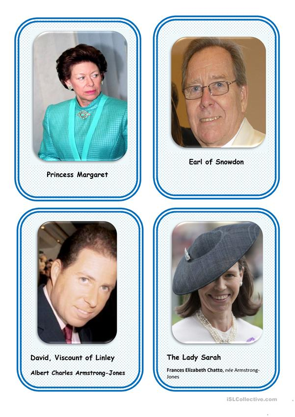 The Royal family-cards 2 (12)