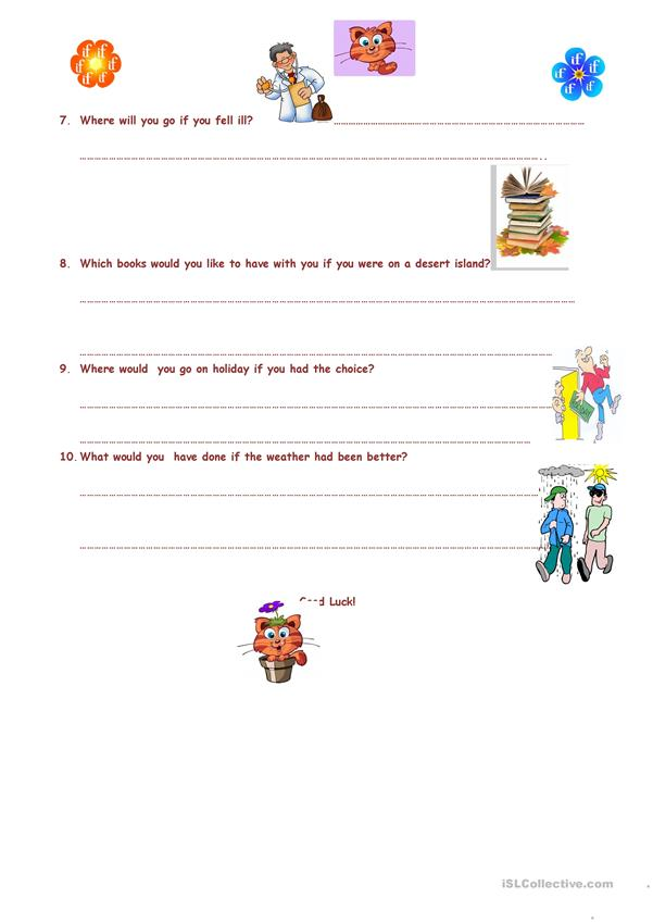 Conditionals Questions & Answers