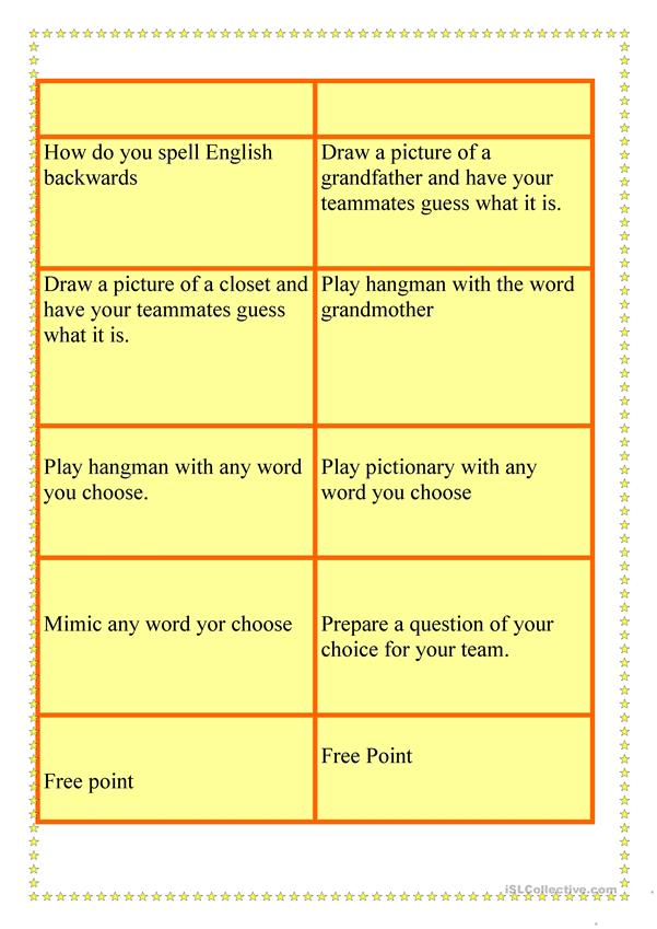 GAME FOR ELEMENTARY STUDENTS