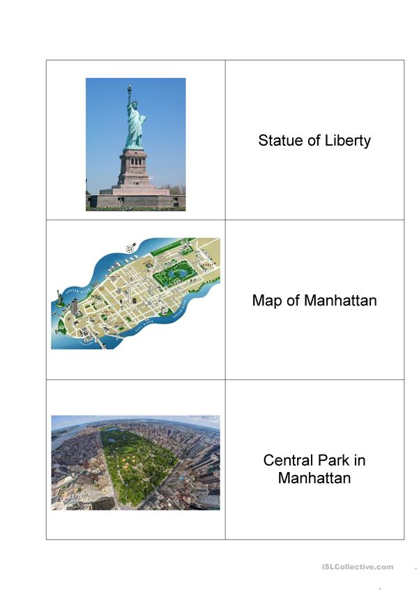 NYC_ picture dictionary _ Manhattan