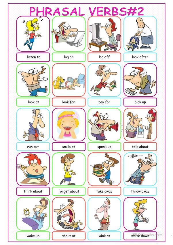 Phrasal Verbs Picture Dictionary#2
