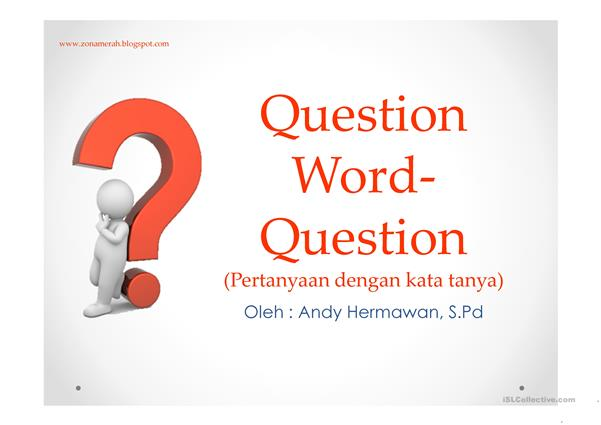 Question Word Question