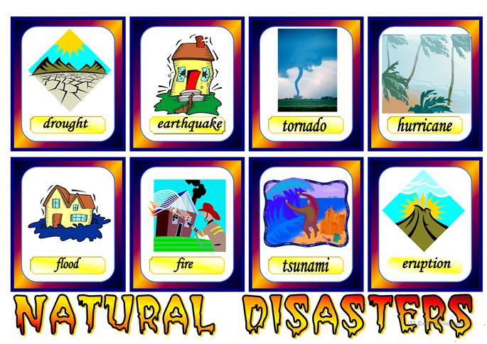 Natural Disasters worksheet - Free ESL printable worksheets made by ...
