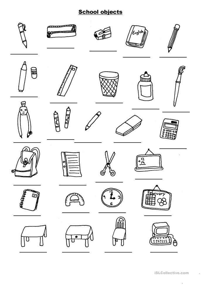 ... Objects worksheet - Free ESL printable worksheets made by teachers