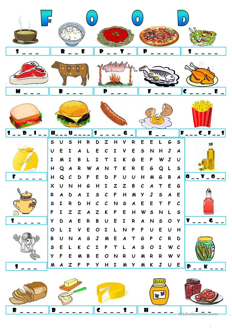 wordsearch worksheets english printable crossword esl puzzle class vocabulary activities games word worksheet islcollective wordsearches crosswords resources pyramid foods lessons