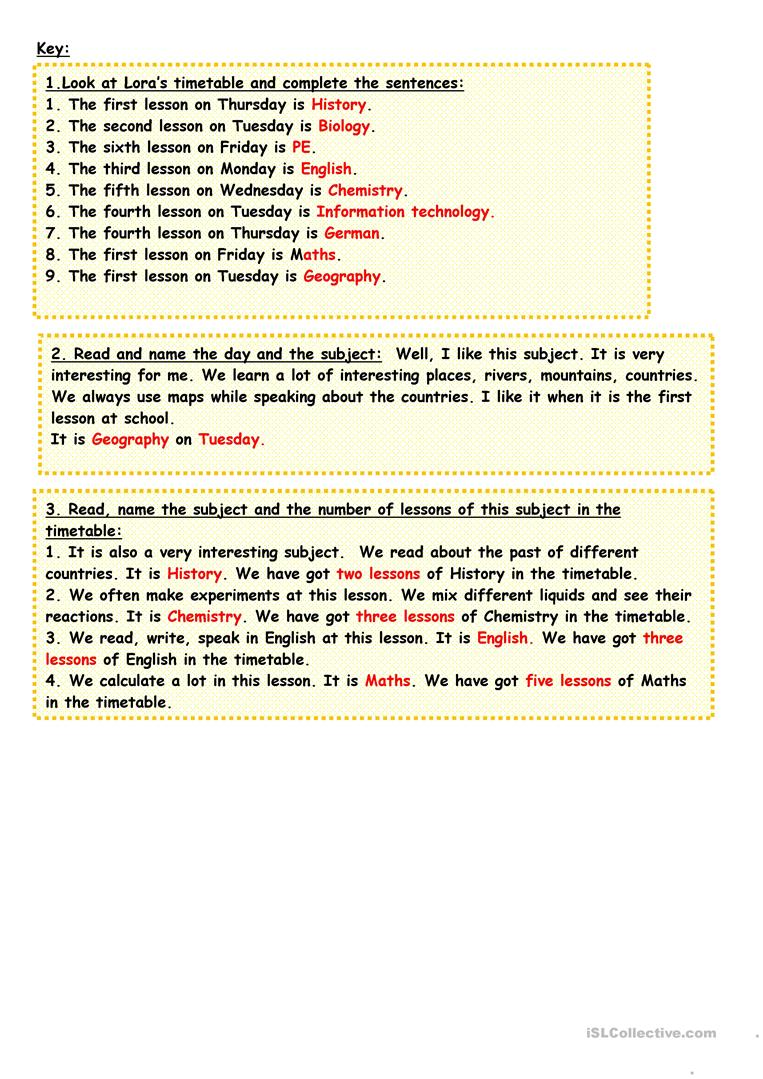 Parts Of Speech Worksheets For Middle School - The Best and Most ...