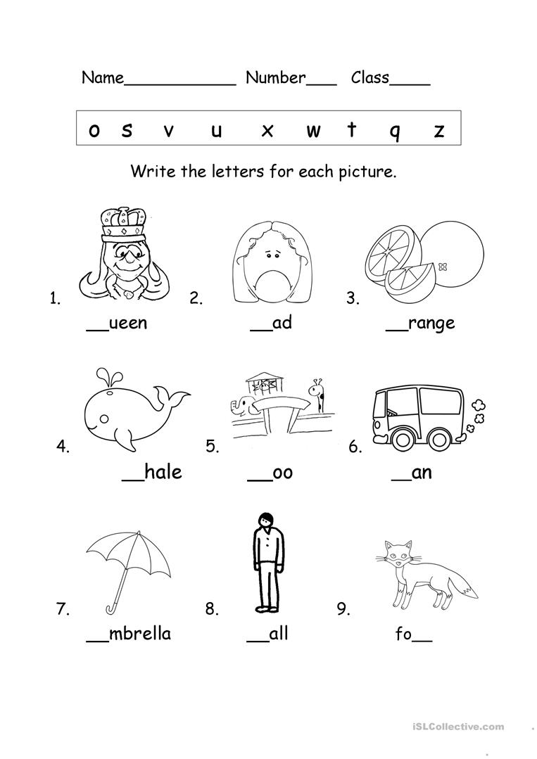 - Phonics - English ESL Worksheets For Distance Learning And
