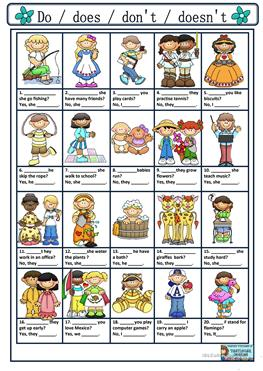English ESL ask and answer worksheets - Most downloaded (10 ...