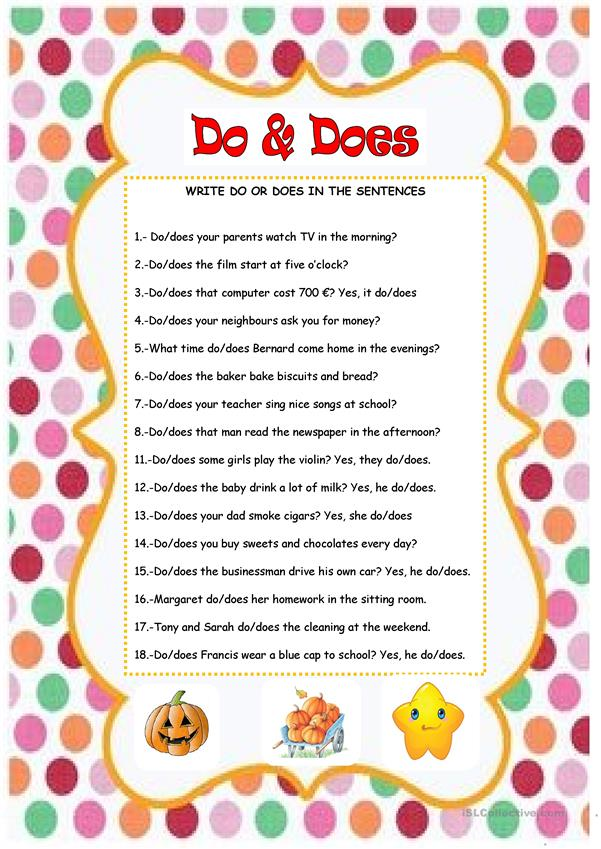 DO & DOES