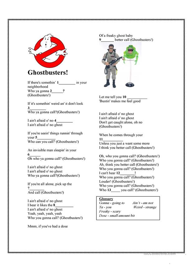 Halloween Song - Ghost Busters