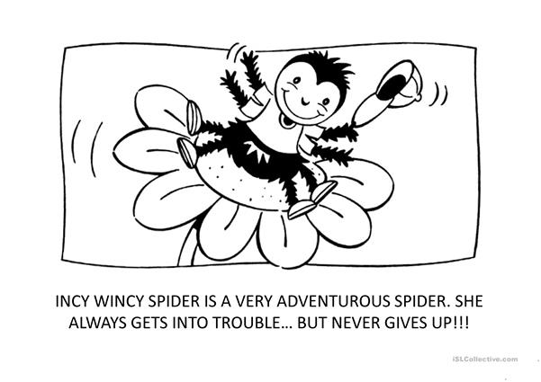 Incy wincy spider story