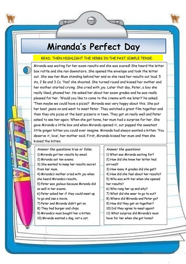 Miranda's Perfect Day