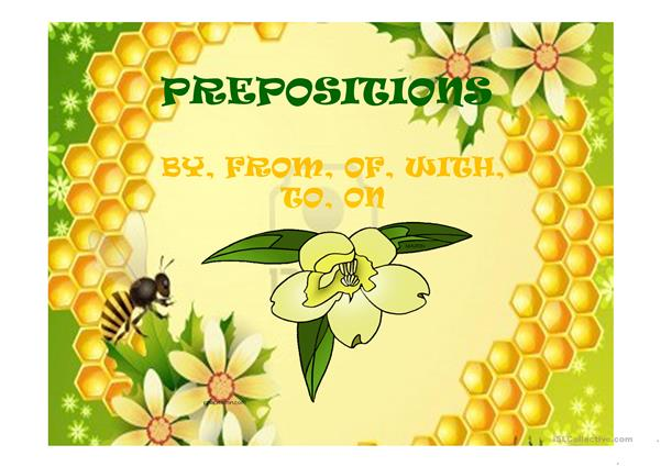 PREPOSITIONS FOR KET EXAM PART 9