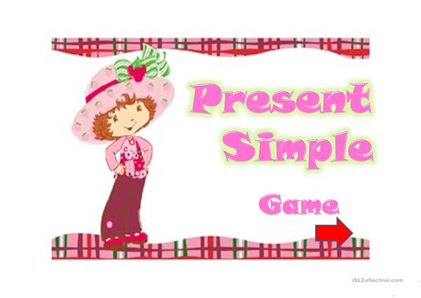 PRESENT SIMPLE- GAME