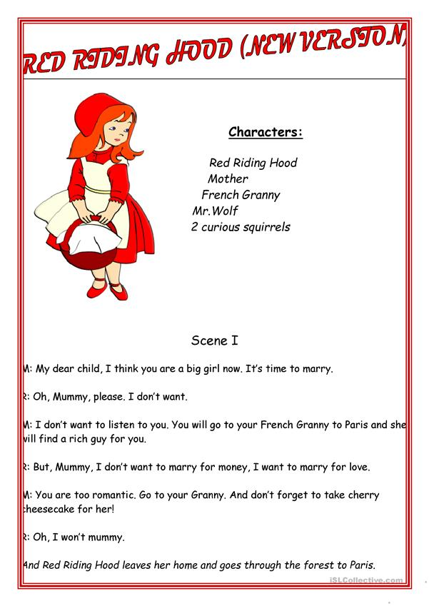 Red Riding Hood (script. new version)