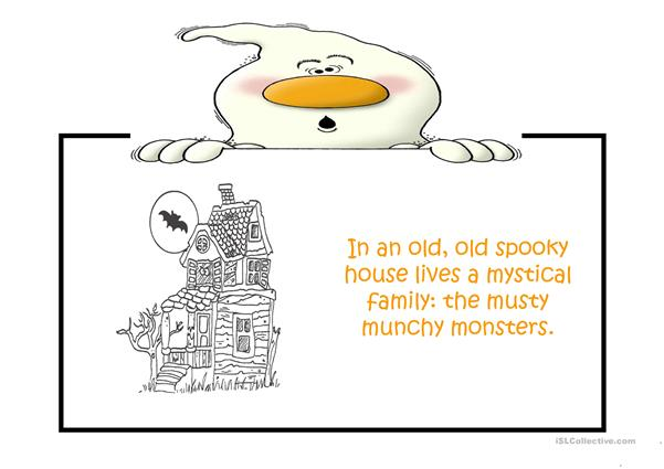 The musty munchy Monster Family