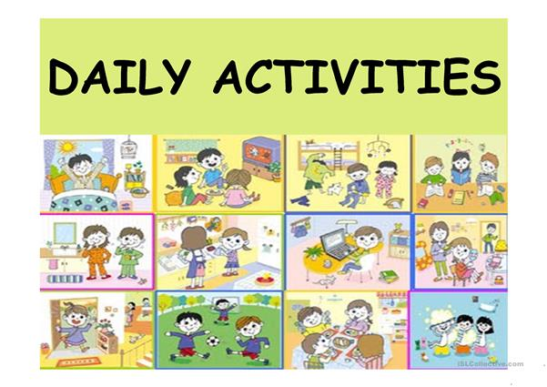childs daily activities - 601×425