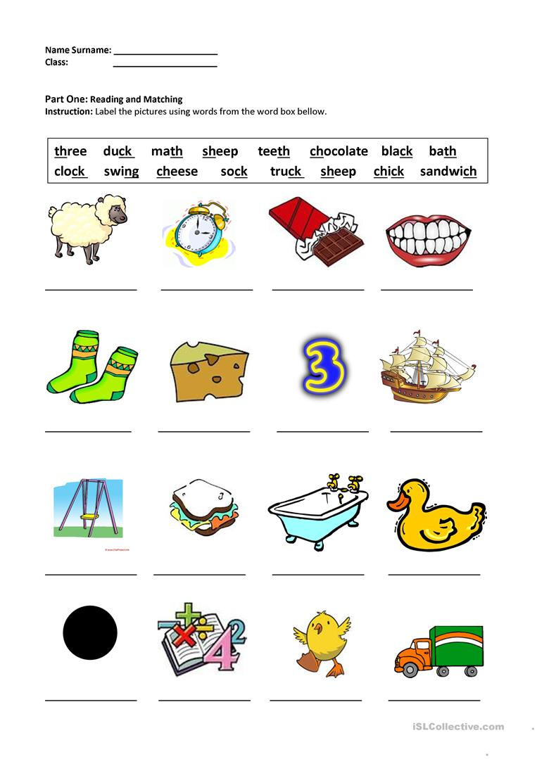 Worksheets Ch Sound Worksheets digraphs shchthckng worksheet free esl printable worksheets full screen