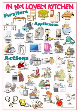 simple kitchen machines worksheet picture in decorating