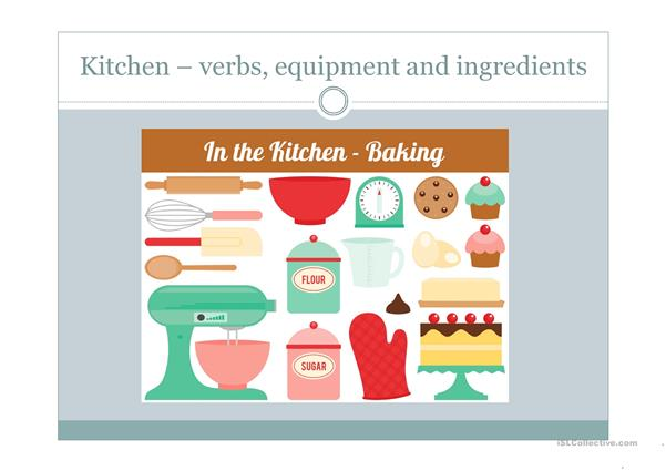 baking vocabulary