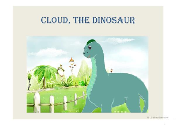 Cloud, the dinosaur