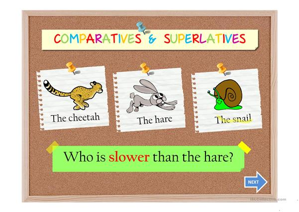 COMPARATIVES AND SUPERLATIVES II