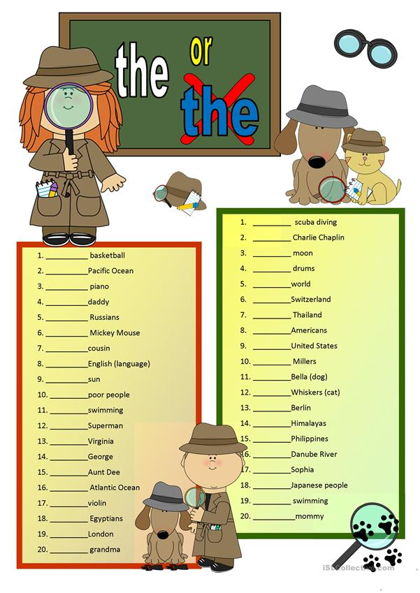 Definite Articles with KEY