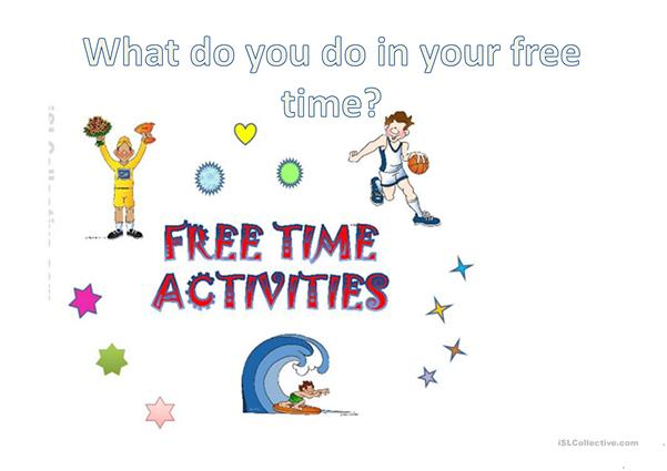 Free time activities frequency