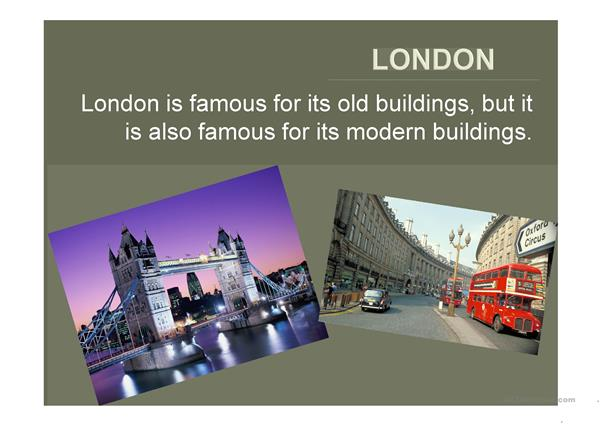 London- Old and New